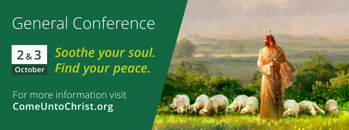 General Conference poster invite