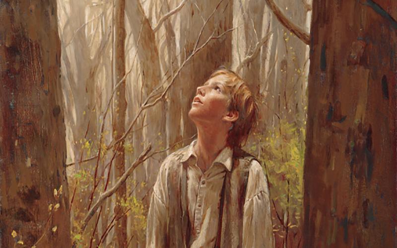 Joseph in the Sacred Grove