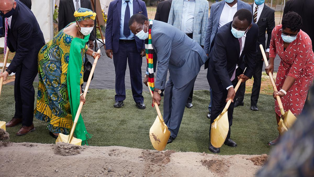 Harare Zimbabwe Temple Groundbreaking