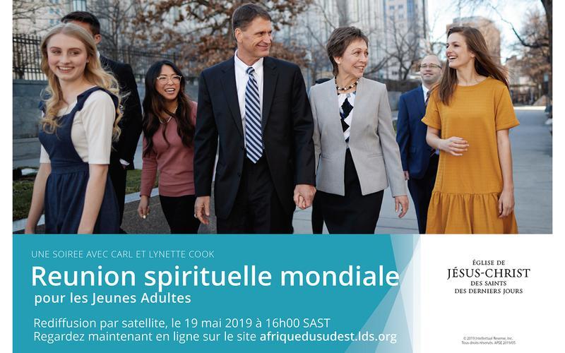 Reunion spirituelle mondiale pour les Jeunes Adultes