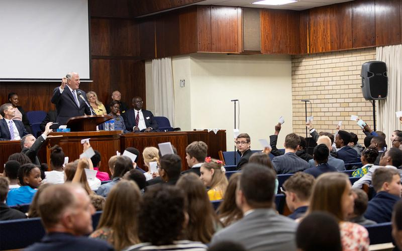 Durban South Africa Temple Youth Devotional