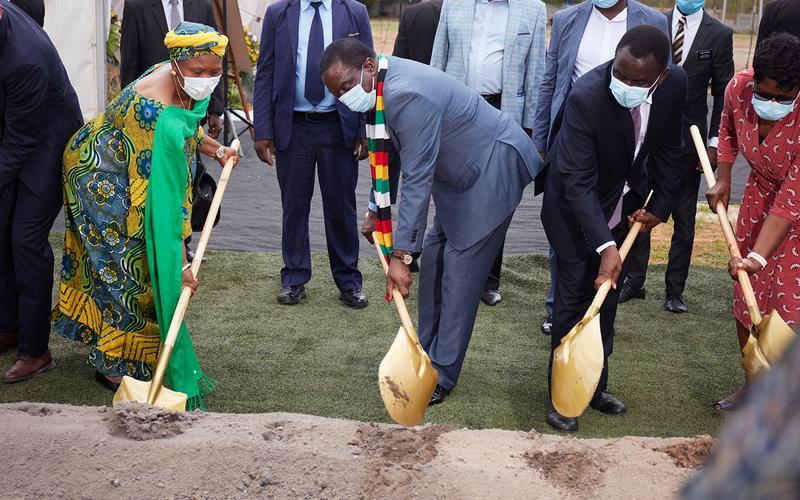 Harare Zimbabwe Temple Groundbreaking