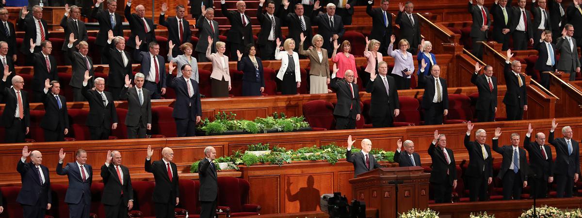 Assemblée solennelle d'avril 2018