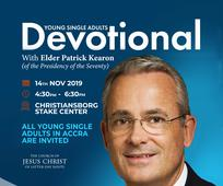 YSA Devotional with Elder Patrick Kearon of the Presidency of the Seventy