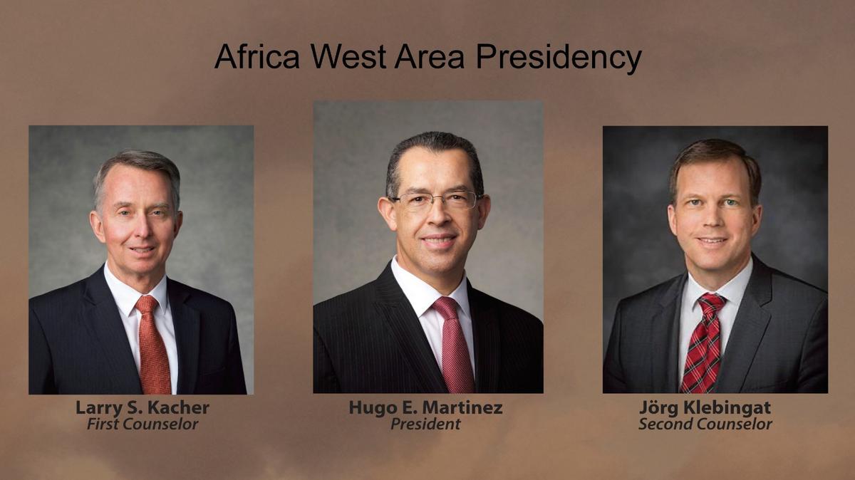 La présidence de l'interrégion