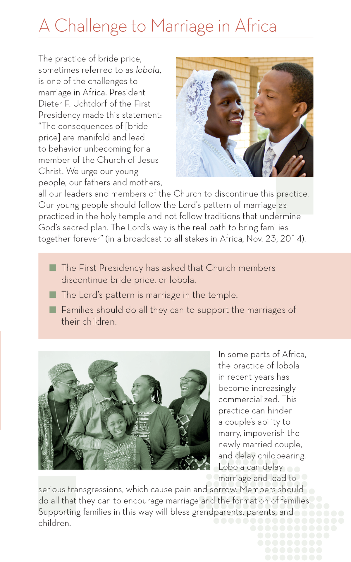 Marriage Brochure page 2
