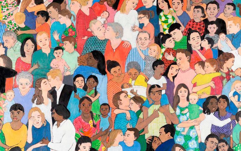 մի ժողովուրդ իրար հետ ուրախ ապրելուց