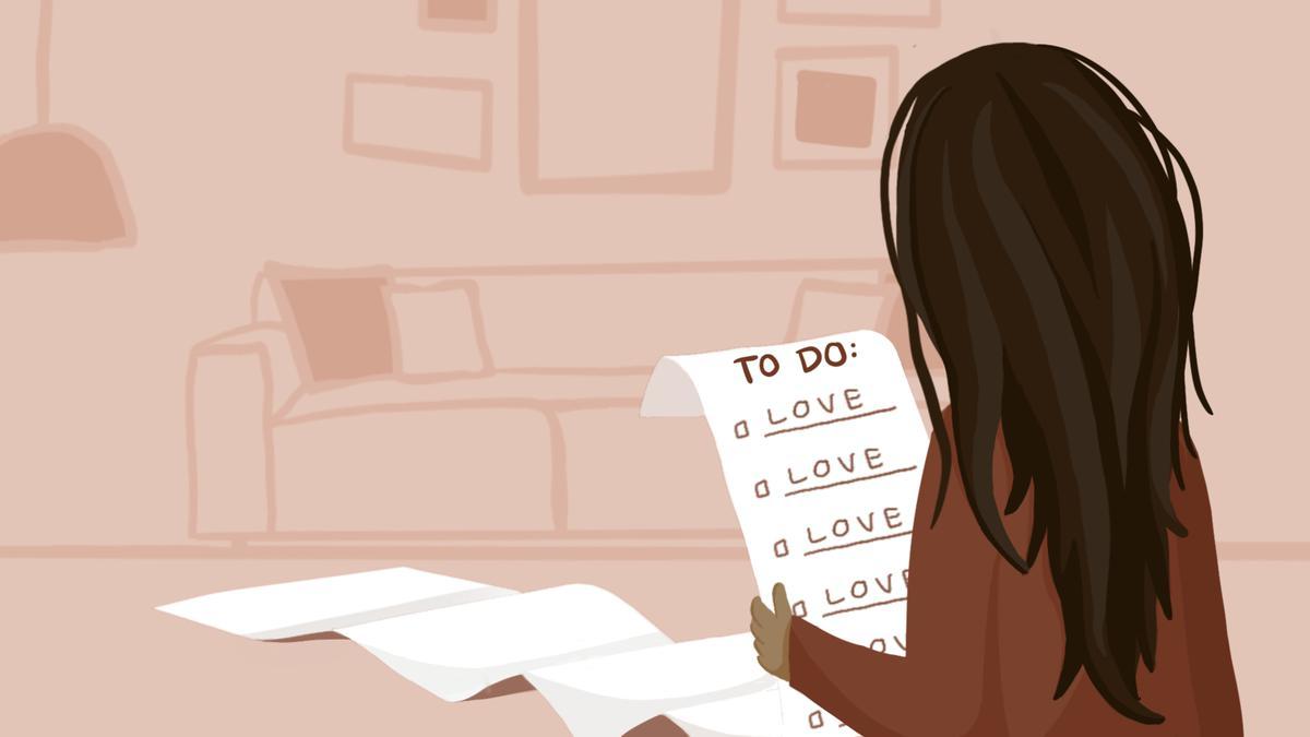 կնոջ սիրո ցուցակ
