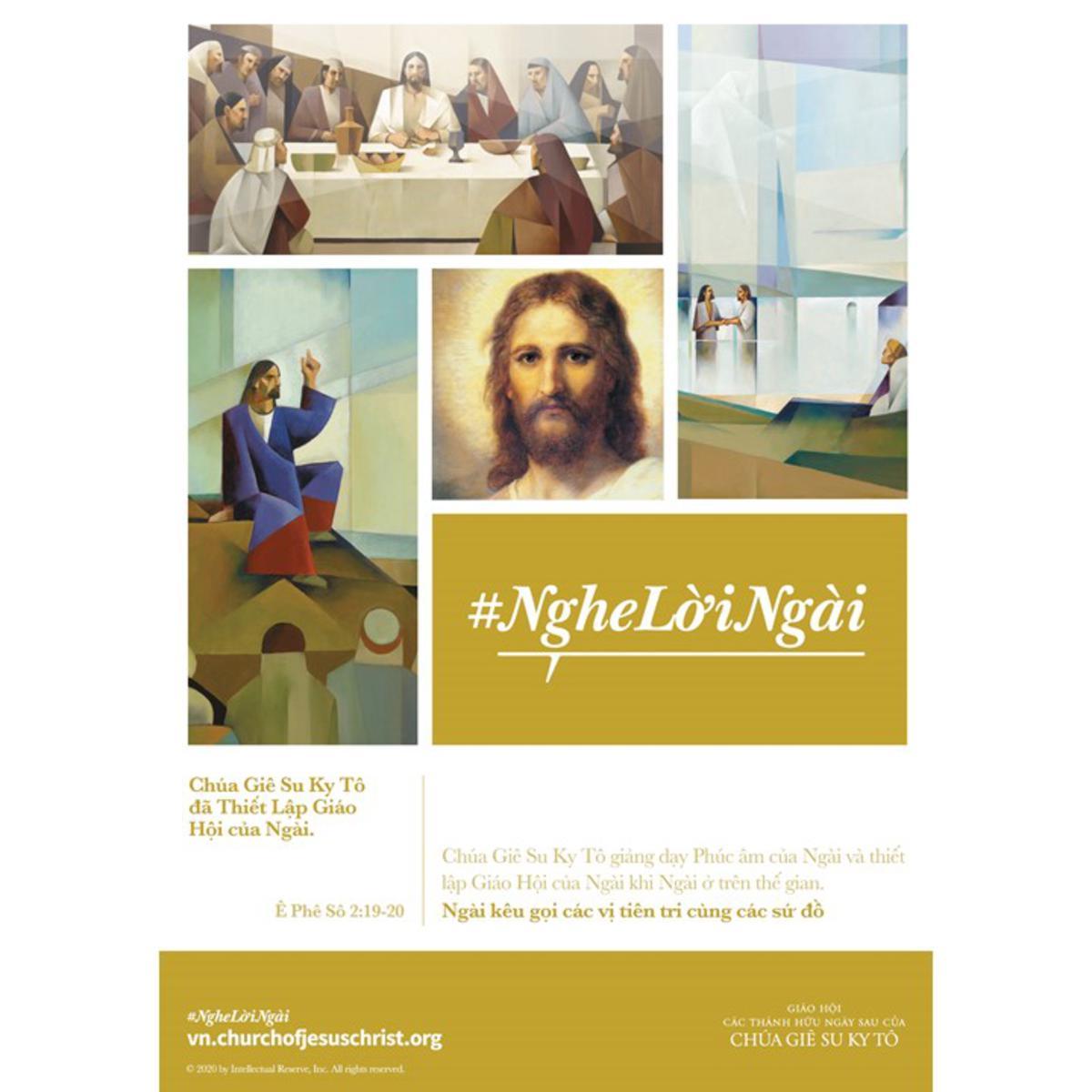 Chúa Giê Su Ky Tô đã Thiết Lập Giáo Hội của Ngài