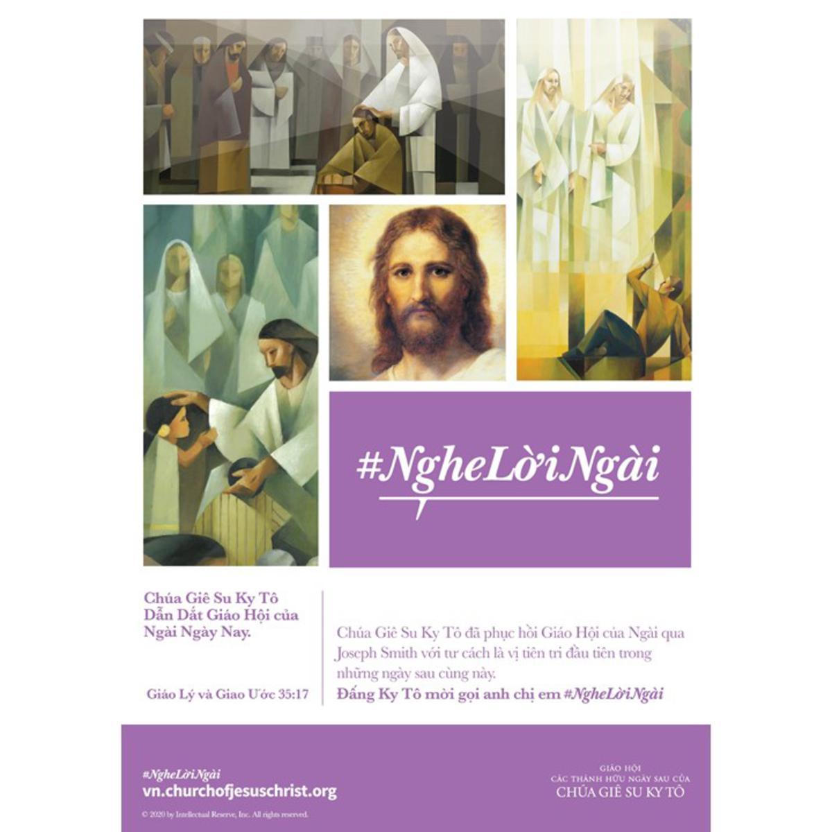 Chúa Giê Su Ky Tô Dẫn Dắt Giáo Hội của Ngài Ngày Nay