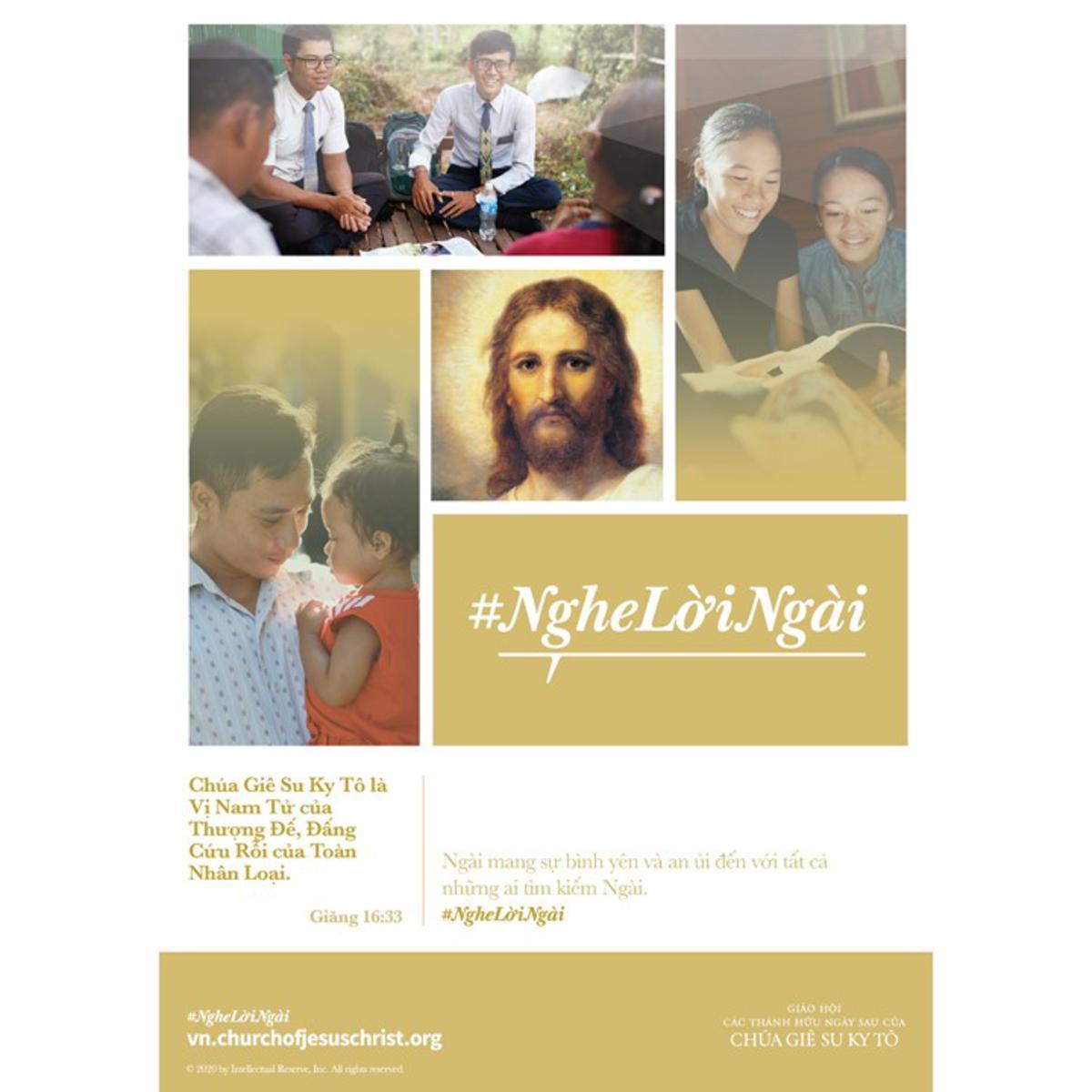Chúa Giê Su Ky Tô là Vị Nam Tử của Thượng Đế, Đấng Cứu Rỗi của Toàn Nhân Loại
