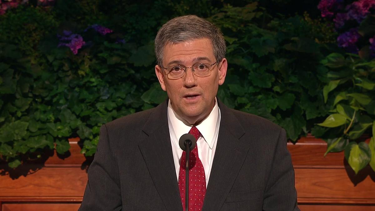 Elder David F. Evans of the Seventy