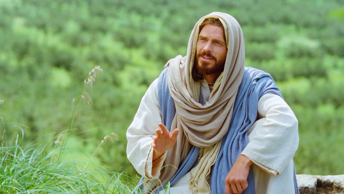 Jesus Teaching on Mount