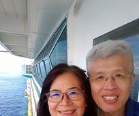 陳文龍與妻子