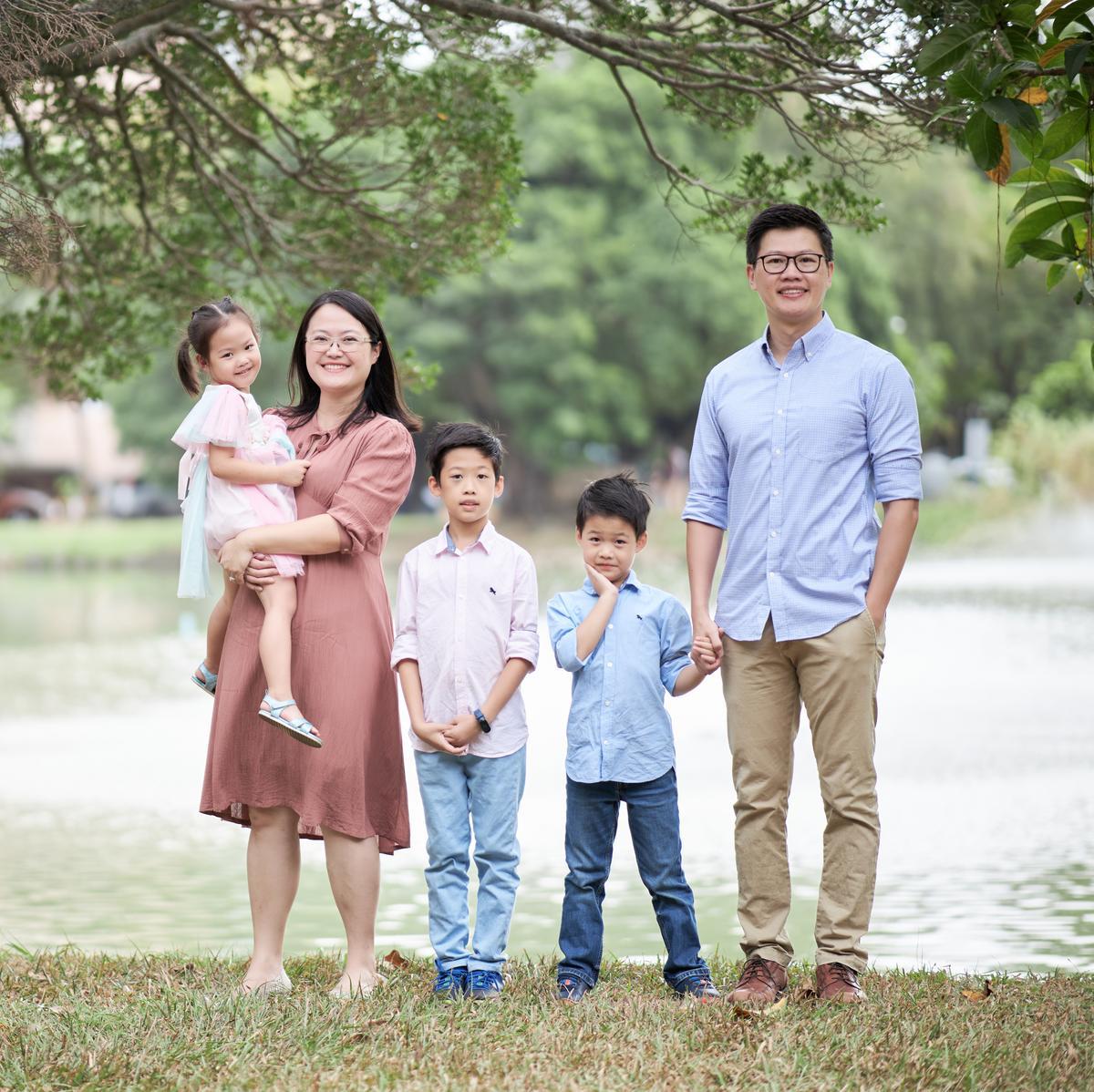 劉建邦家庭