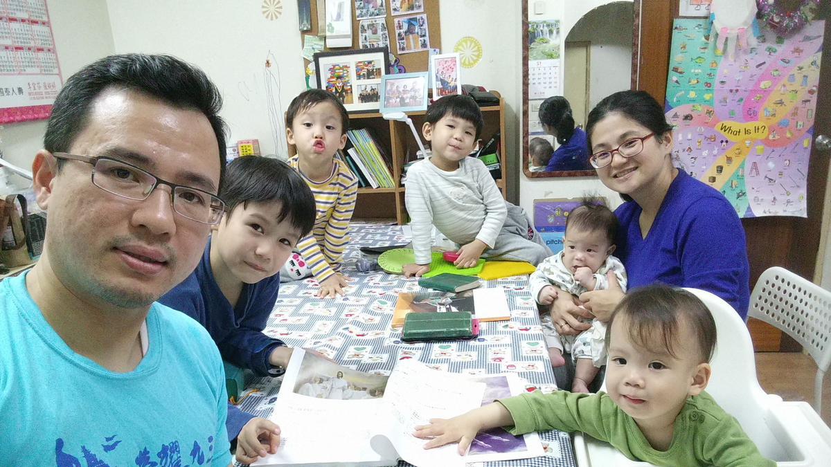 張宗權家庭1