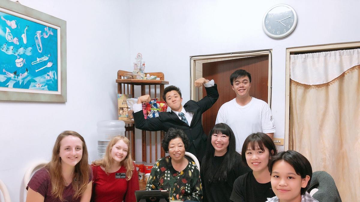 外婆與吳長老朋友們1
