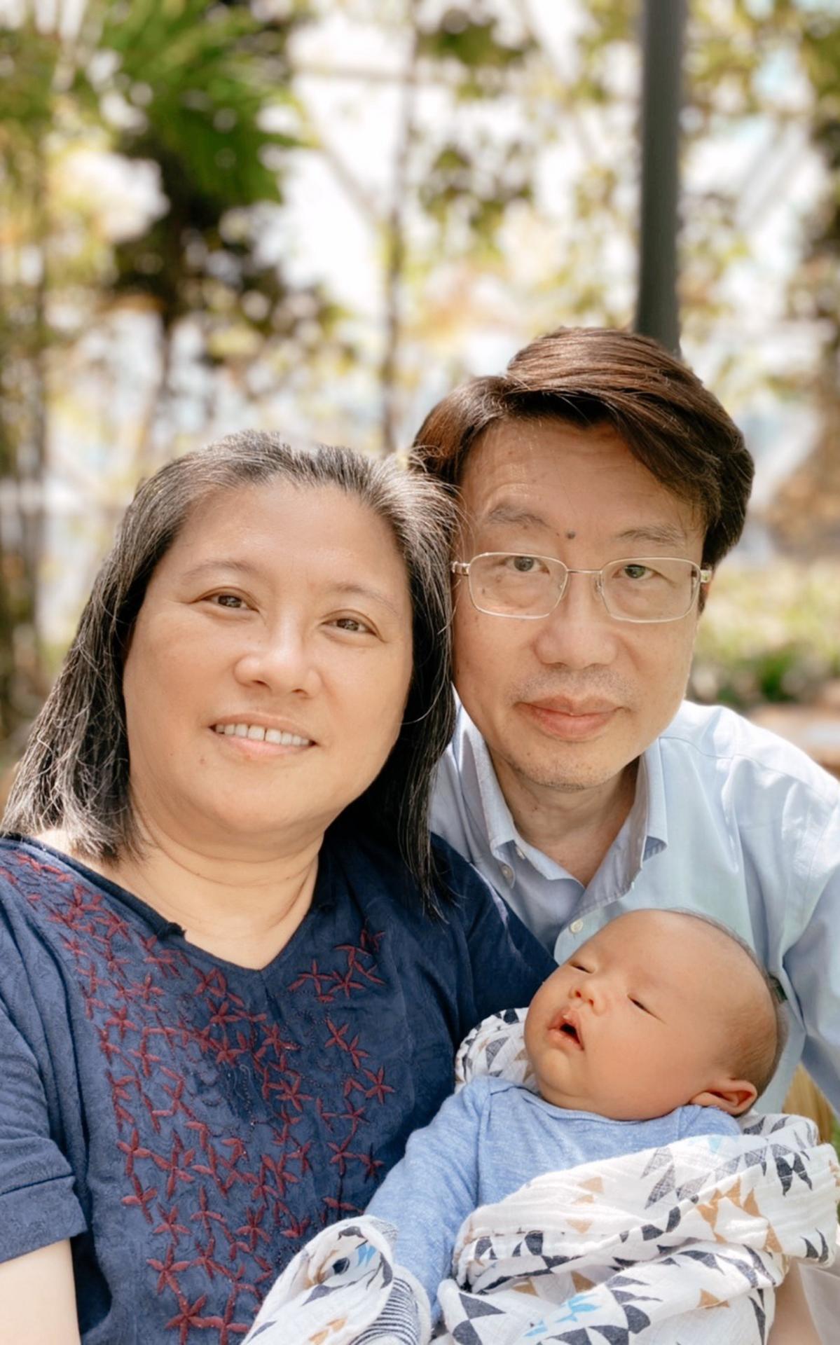 黃林秋蘭夫婦照片