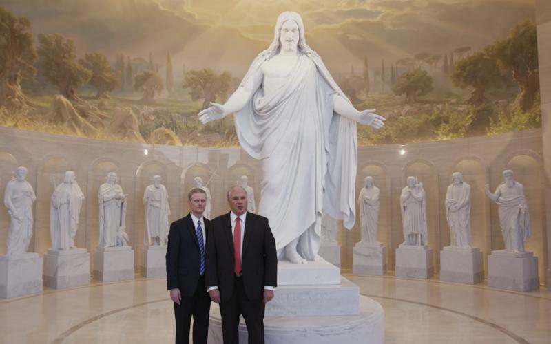 兩位使徒導覽羅馬聖殿
