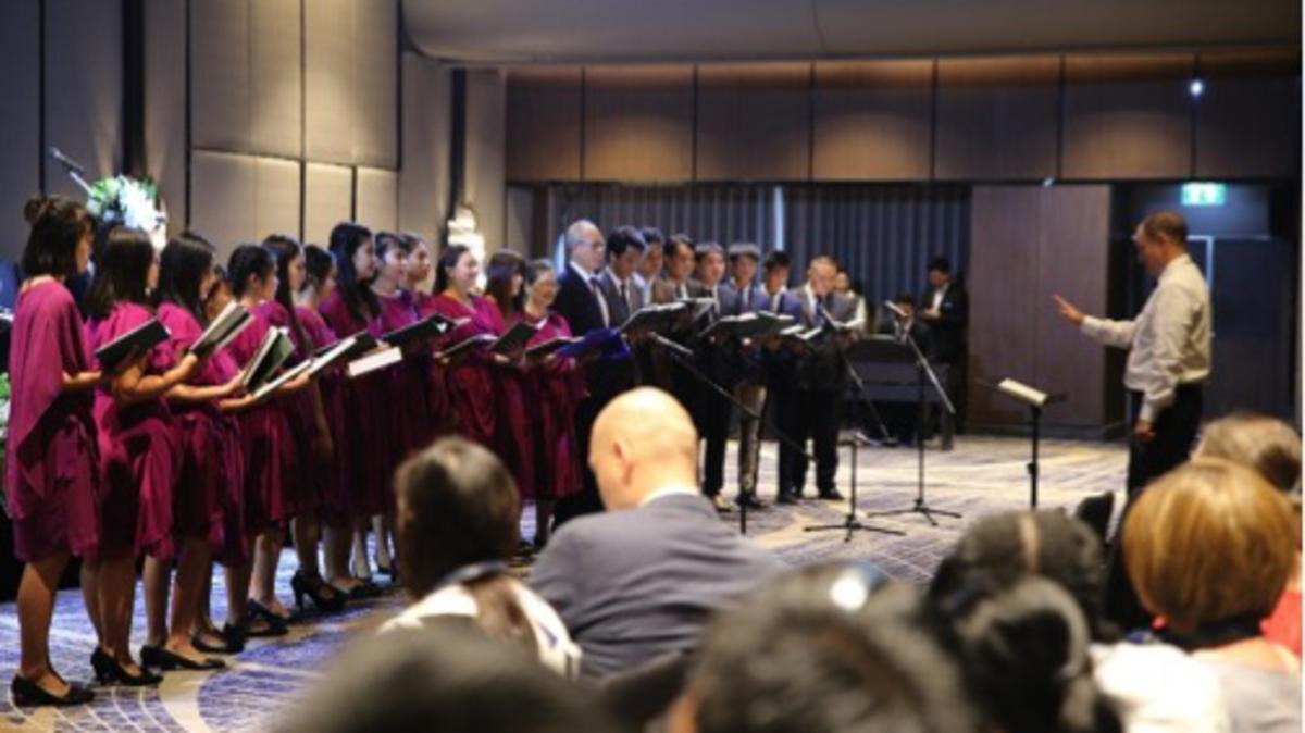คณะนักร้องประสานเสียงสเตคกรุงเทพตะวันตก ประเทศไทย