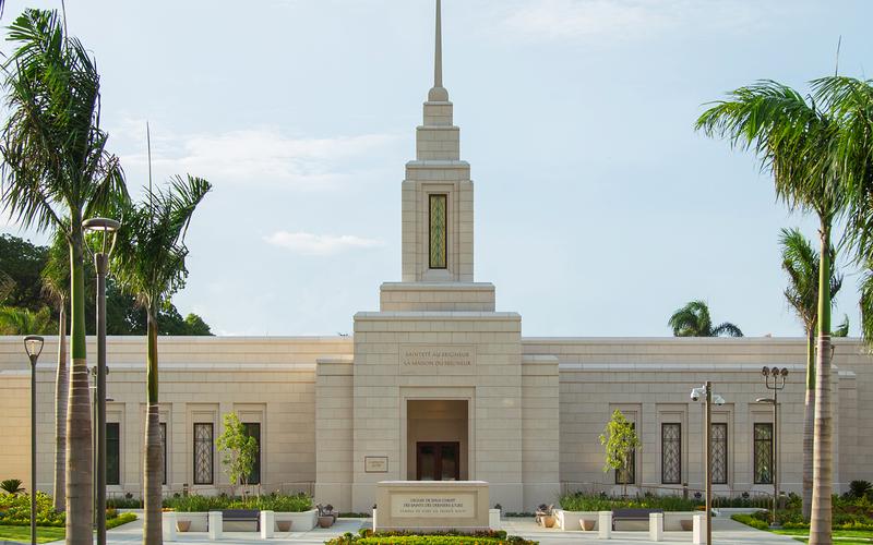 Temple de Port-au-Prince, Haïti