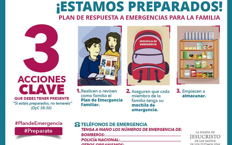 Sticker Plan de Emergencia