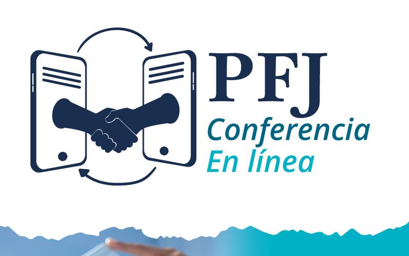 PFJ Conferencia Online - Flyer
