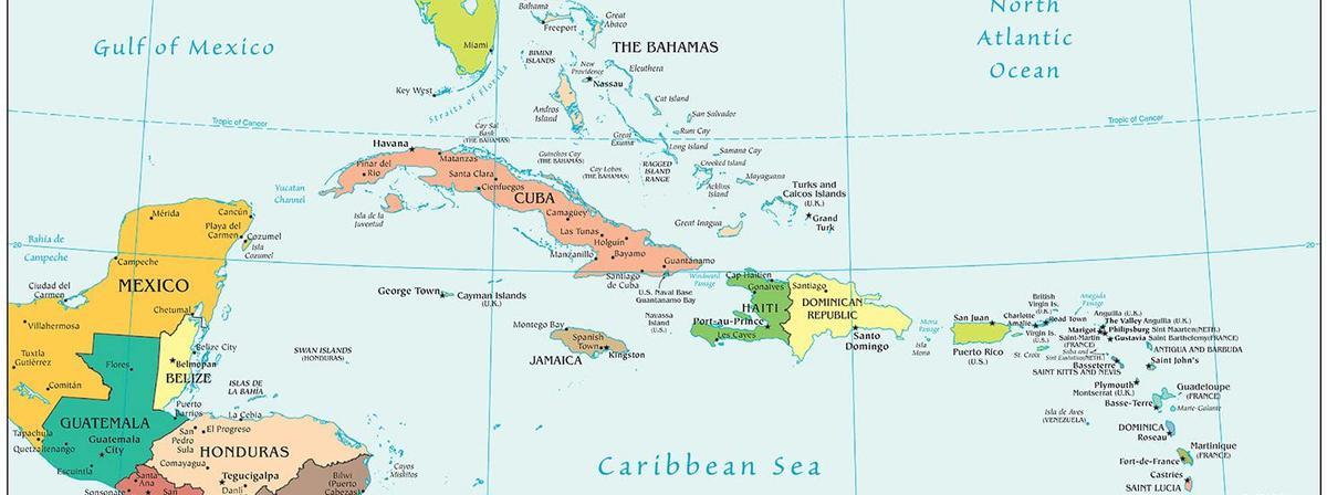 Ärea del Caribe
