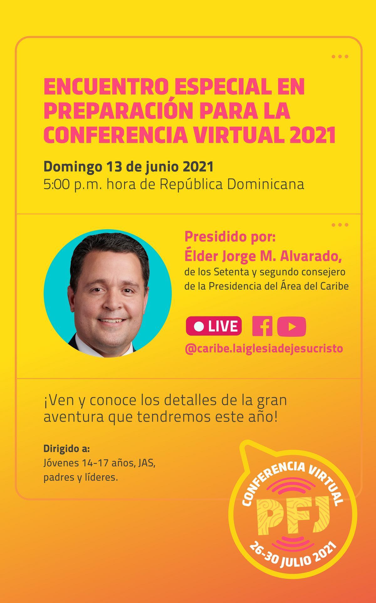 Encuentro especial en preparación para la conferencia virtual 2021