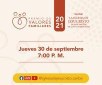 La Iglesia de Jesucristo reconocerá a familias dominicanas con el Premio de Valores Familiares 2021