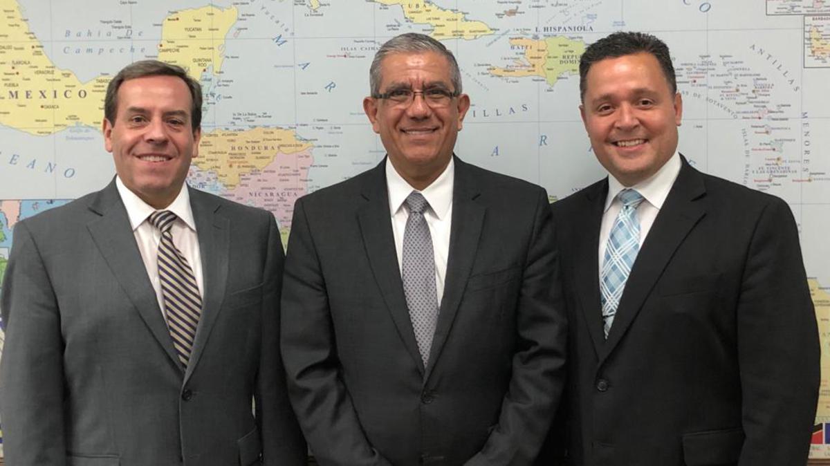 Cambios en la Presidencia del Área Caribe