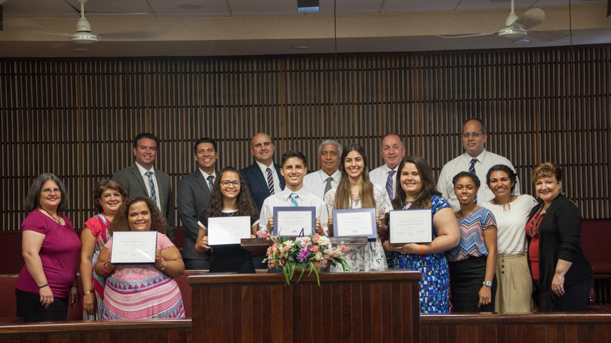 Graduación en Puerto Rico