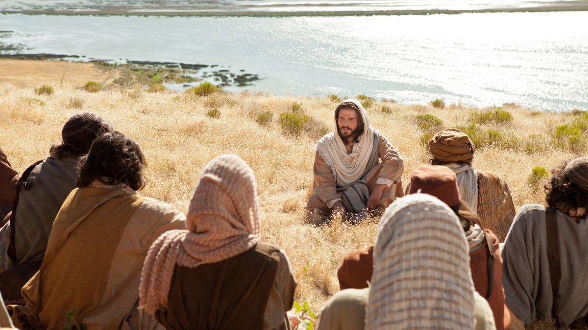 Jesucristo y discipulos