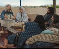 Lehi y su familia, El Libro de Mormón