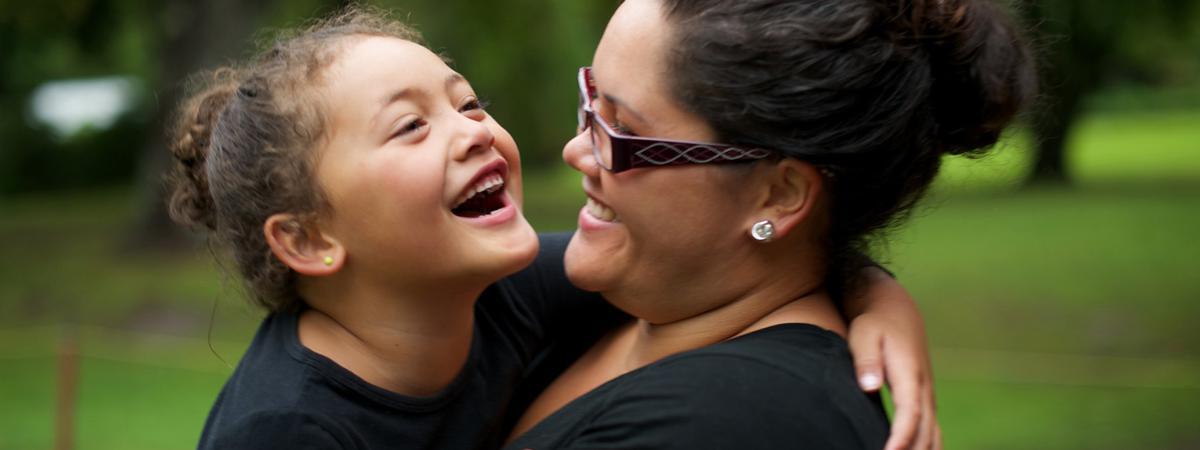 Mamá e hija mormones