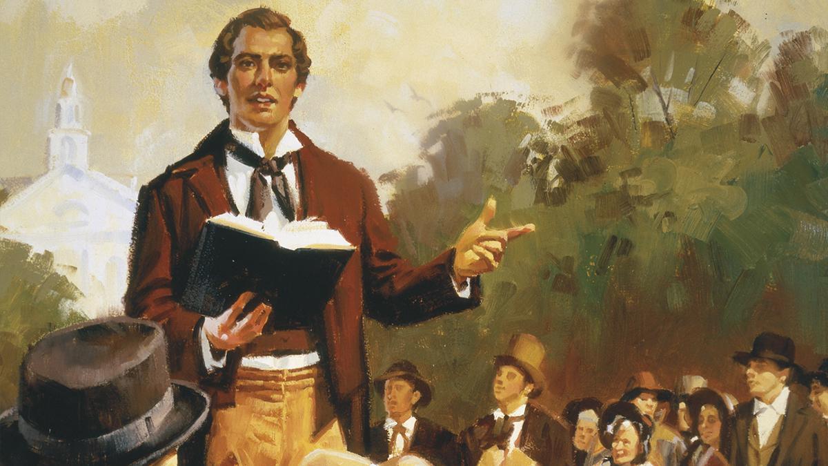 José Smith fue un profeta que vivió en los Estados Unidos a principios del siglo XIX.