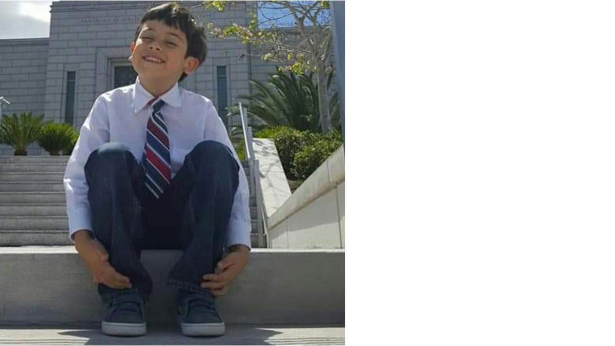 Samuel M., 8 años
