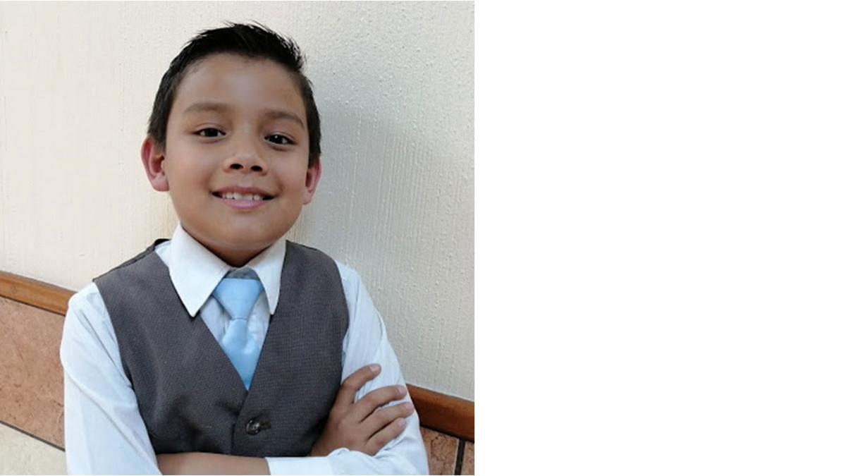 Giovanni M., 9 años
