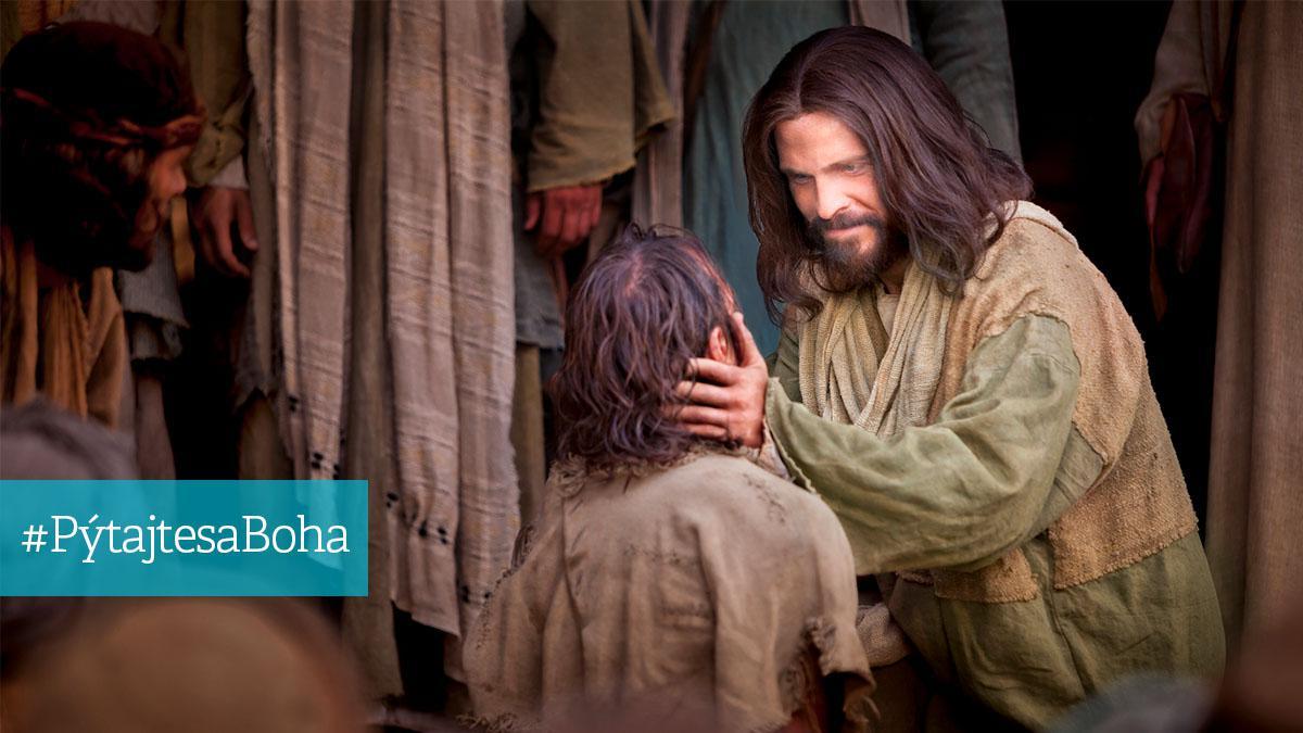 Ježíš Kristus uzdravuje nemocného
