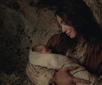 Η Μαρία μεγάλη με τον μικρό Ιησού