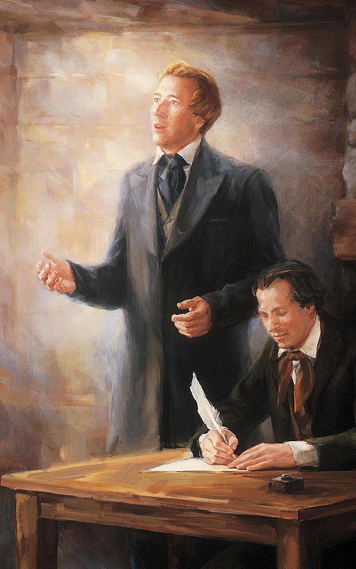 Joseph Smith og Oliver Cowdery