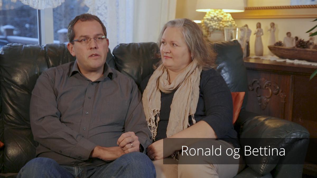 Vitnisburður Ronalds og Bettinu