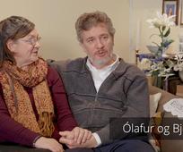 Vitnisburður Ólafs og Bjargar