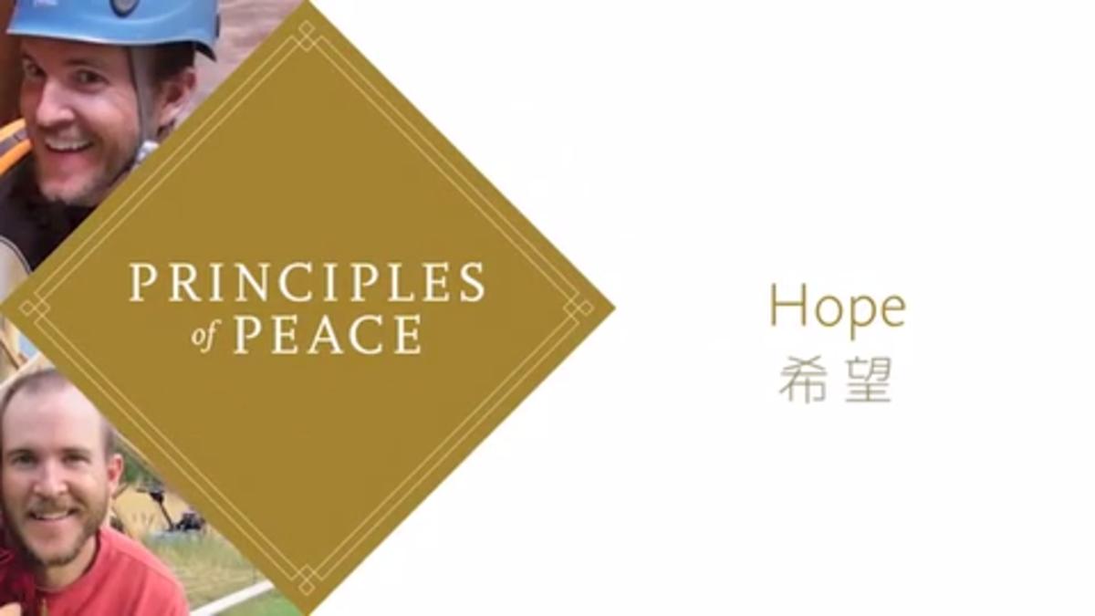 心の安らぎを見いだすための8つの原則「希望」篇