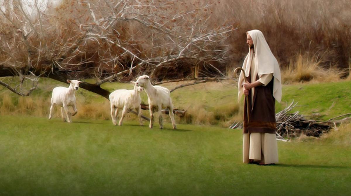 イエス・キリストと羊