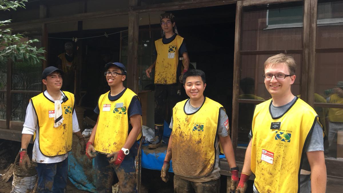 豪雨被災地へのボランティア募集しています