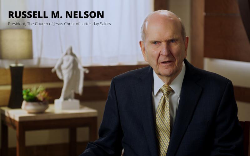 President Nelson Message
