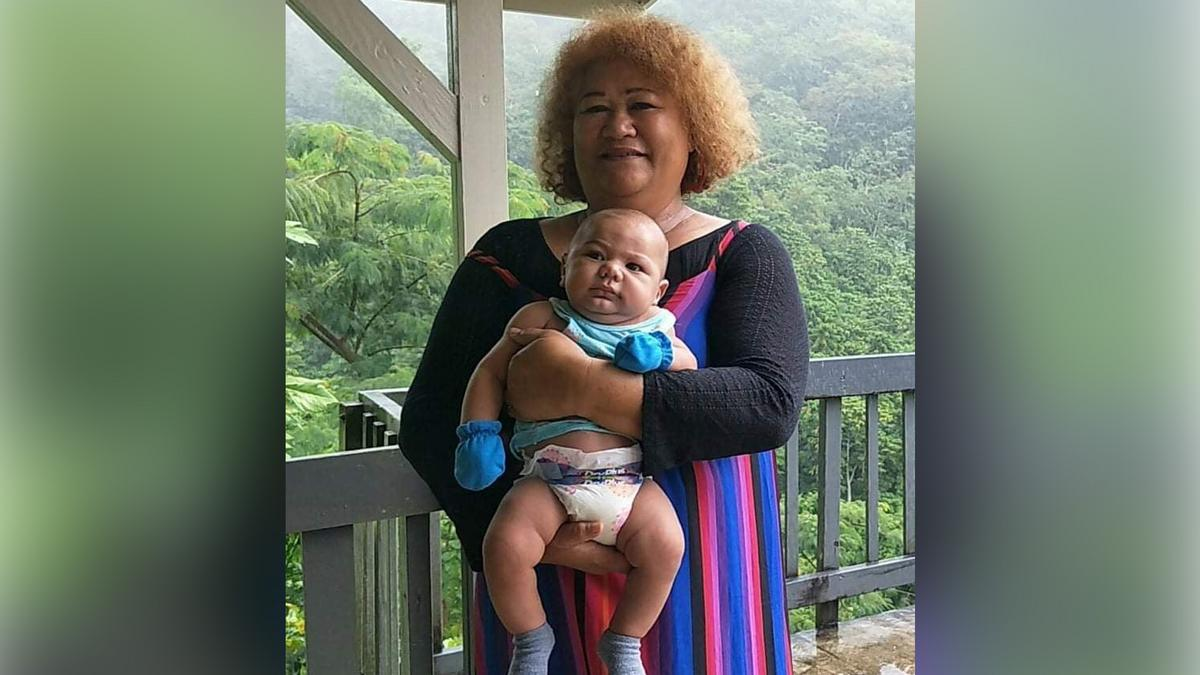 Afulua juggles her PathwayConnect studies in with the care of her elderly mother and her infant grandson