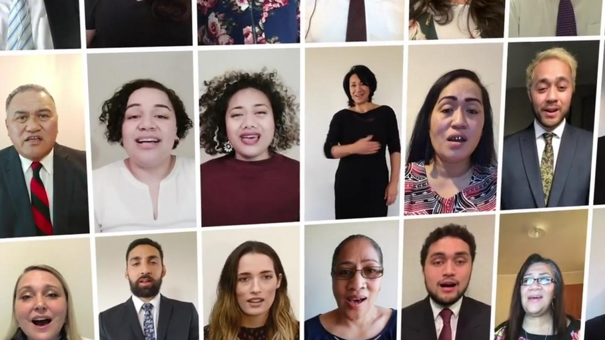 Auckland Temple Groundbreaking Virtual Choir