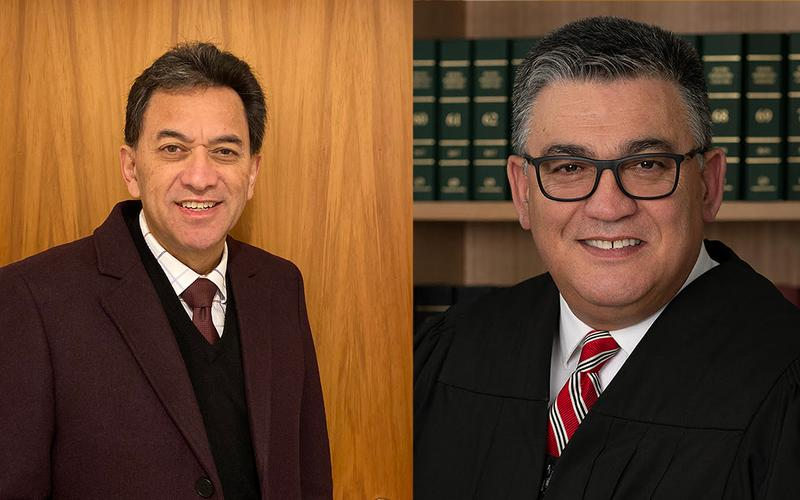 The two judges